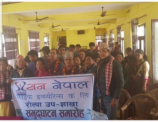 Rolpa Sub-Branch Opening and Insurance Awareness Programme
