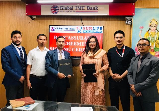 Global IME Bank and Sun Nepal Bancasuranc