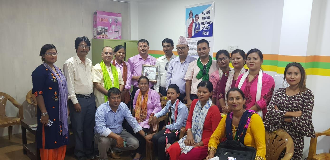 Insurance Awareness Programme at Jhumka
